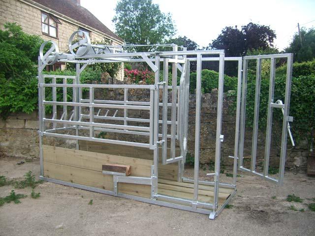 Calf Houses Livestock Handling Symms Fabrication